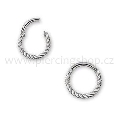 Septum piercing MOgirl Look Steel Wire