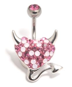 Swarovski piercing