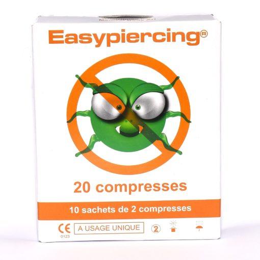 Čistící a desinfekční prostředky na piercing kit