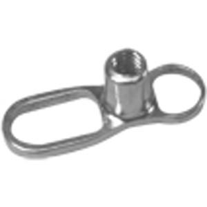 Mikrodermal piercing základna Titanium