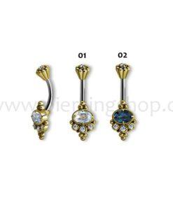 Tribal Brass Ethno piercing