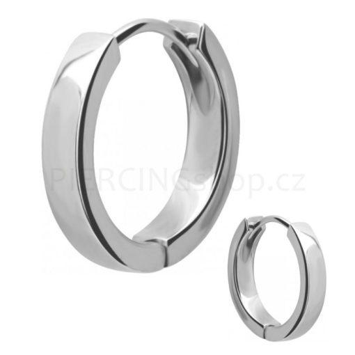 Náušnice z chirurgické oceli Hoop Ring